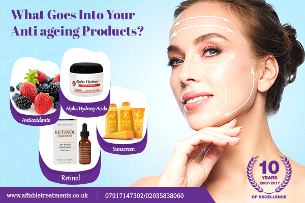 Ingredient Of Anti Ageing Product