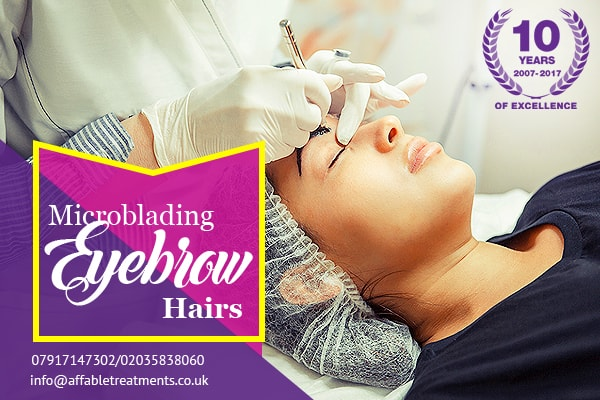 Demand of Microblading Eyebrows in Croydon