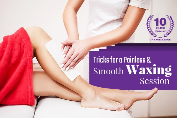 Tricks of Painless Smooth Waxing Experience